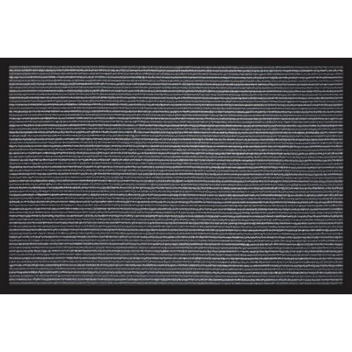 Paillasson entrée ANTISALISSURE gris rayé DEBONSOL
