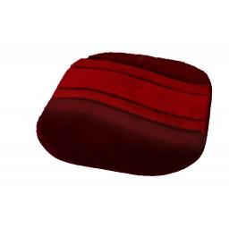 Tapis de bain SIESTA rouge KLEINE WOLKE