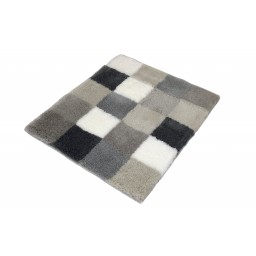 Tapis de bain CARO multicolore gris KLEINE WOLKE