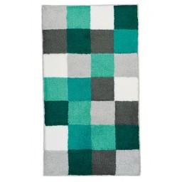 Tapis de bain CARO multicolore vert KLEINE WOLKE